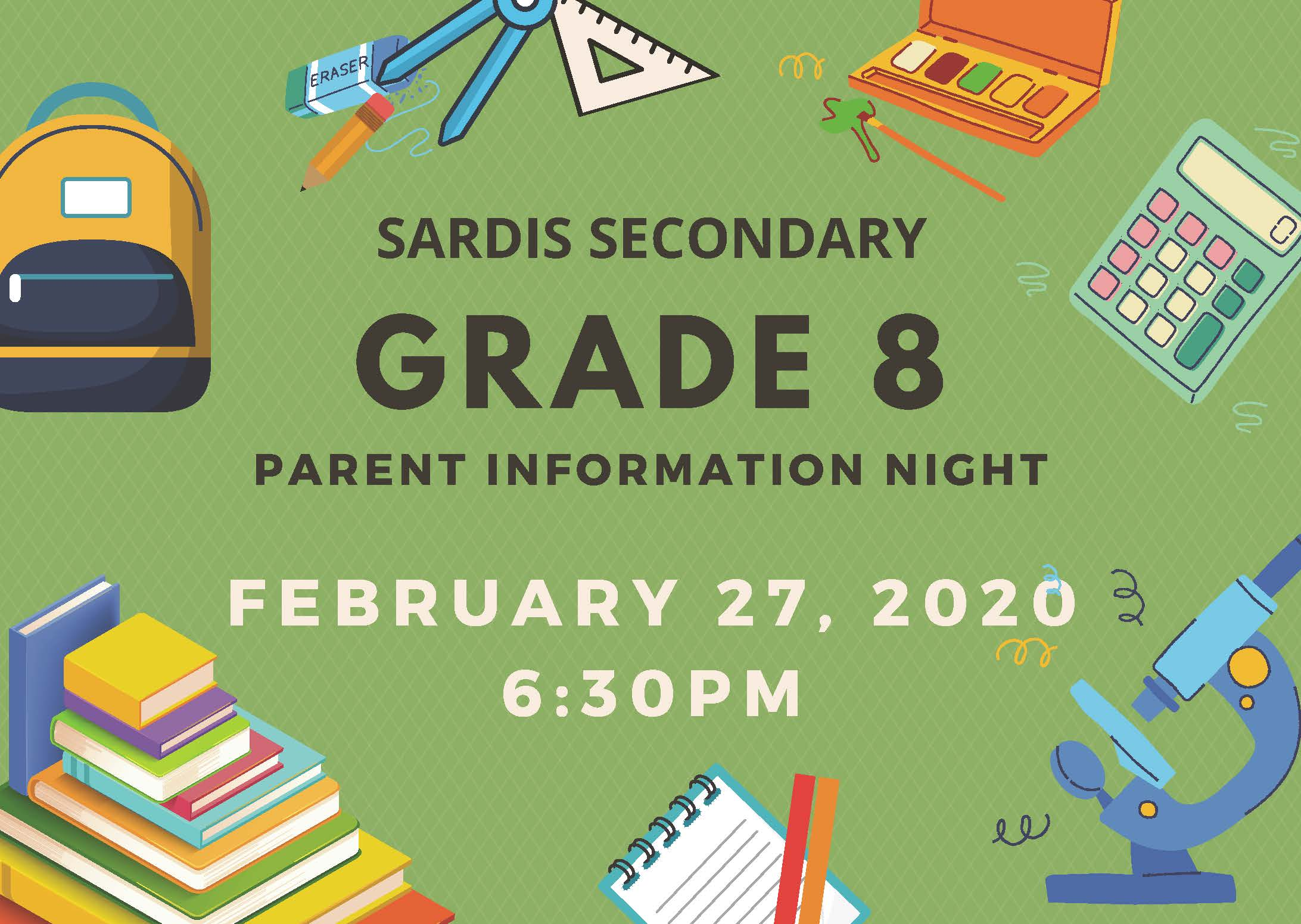 Grade 8 Parent Info Night